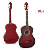 Prix de gros Aiersi Handmade 39 pouces Couleur de la guitare classique