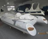 Liya 4.3m船外Hypalon/PVCの肋骨のボートの膨脹可能なボート