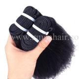 Estensione diritta ad alta densità dei capelli umani di Yaki per la donna americana