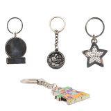 Esmalte de metal personalizado chaveiro/ Chaveiro/ Porta-chaves