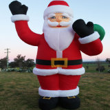 Aufblasbares Weihnachtsalte Weihnachtsmann-Dekoration für Verkauf