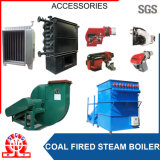 Caldeira de vapor despedida escudo de carvão e de coco a Malaysia