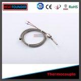 Het Type J van Sensor van de temperatuur met 1/4 Schroefdraad ''