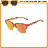 A lente espelhada Vintage da marca mais quentes do estilo de vida moderno óculos de sol 2017