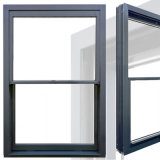 Rotura termal de moda Windows colgado superior de aluminio y puertas