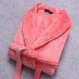 Flanela relativa à promoção dos pares/veludo do velo/Bathrobe/pijama/Nightwear corais da flanela