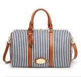 Saco do curso da bolsa do fim de semana do saco da senhora Boston da tira da lona da forma (WDL0824)