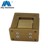 La pression hydraulique en aluminium de 90 degrés douche couleur dorée de la charnière