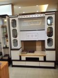 El chino moderno mobiliario de madera mármol armario soporte para TV