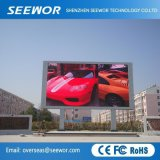 High Contrast P4.8mm Full Color Outdoor Fixed LED Display Screen for Advertizing