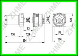 treuil électrique de la vente 3000lbs chaude pour ATV/UTV
