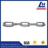 9mm Keten 316 van de Link van het Roestvrij staal van de Diameter DIN766 Standaard
