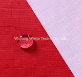 옥외 의복을%s 190t 0.5cm Ripstop 입히는 폴리에스테 Taslon
