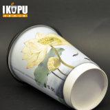 Taza de papel disponible del PE del doble de la categoría alimenticia y taza fría de la bebida