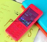 カラースクリーンFMのラジオを持つNokiaのための卸し売り携帯電話棒電話206