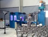 Цинк Metalizing линию для 12,5 кг/15кг газового баллона системы питания сжиженным газом производственного оборудования