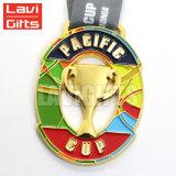 中国の製造の安い卸し売りカスタム金属賞のマラソンの連続したトロフィのスポーツメダル最小の順序無し