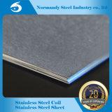 AISI 201 hl de la hoja de acero inoxidable de la superficie para el revestimiento de la elevación