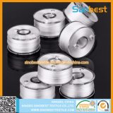 Lados de plástico 70d/2 bobinas Pre-Wound Poliéster Thread para bordados