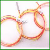 Tipo fundido SM longitud de la fibra del divisor 1*2 G657A1 del cable el 1m de 0.9m m