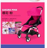 Carrinho de criança de bebê de pouco peso do sistema do curso do passeante do portador de bebê de Lier