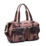 PU 남자의 핸드백 어깨에 매는 가방 여행 부대를 가진 형식 화포