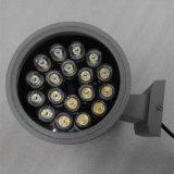 LED 벽 램프 실린더 24W*2 LED 벽 빛 ETL 승인되는 옥외 LED 벽 Sconce - 아래로 옥외 벽 정착물 높은 쪽으로 -