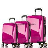 Bw1-087 Diamond стиле поездки багаж Trolley Bag чемодан мягких и жестких багажного отделения