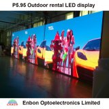 P5.95 LED pantalla de pared de vídeo al aire libre para la etapa, Mostrar Conert y eventos