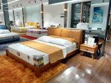 2017新式の現代革柔らかいベッド(SBT-30)