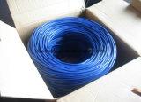 Фабрика кабеля телефона Cat3 LAN, 3 переплела пары, PVC и куртку Lsoh
