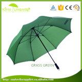 Зонтик гольфа дела с зонтиком навеса прямой ручки сильным прочным
