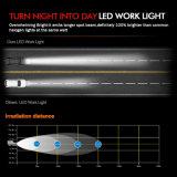 極度の明るいLED自動7inchヘッドランプの天使はDRL 48W 6500K防水IP68 4X4のジープのトラック車オフロード5X7 LEDのヘッドライトを注目する