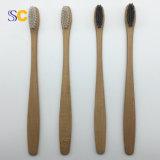 Ökologische zurückführbare Zahnbürste mit BambusHandle&Nylon Borsten
