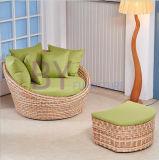 方法創造的な偶然の小型TatamiのPEの藤のソファーの椅子