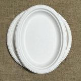 Placa de papel cómoda de Eco de la placa oval disponible de Composable