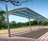 Aluminium Double Carport mit PC Blatt-Dach