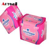 Servilletas sanitarias del algodón disponible para las mujeres