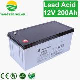5 anos de garantia do ciclo de profunda 12V 200Ah Painel Solar Bateria de chumbo-ácido