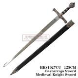 Espadas medievais da decoração das espadas das espadas espanholas 125cm HK81027cu