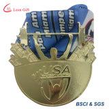 Concevoir le logo en fonction du client 3D gravant la médaille de bronze