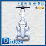 Válvula de puerta flexible de Wcb de la cuña de Didtek con la rueda de mano