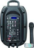 Altoparlante attivo PS-0708bt-Wb di Bluetooth del carrello senza fili di karaoke di 8 pollici