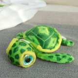 Soft jouet en peluche tortue animal