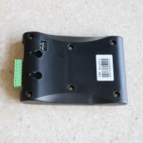 까만 USB UHF RFID 장거리 RFID 독자 탁상용 작가는 1-3m 중거리 900MHz 수동적인 꼬리표 RFID 독자를 읽었다