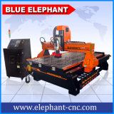 Verkeersteken die van de Verandering van het Hulpmiddel van Techno de Automatische Plastic MDF Houten CNC Machine 1325 van de Router voor Verkoop in Spanje snijden