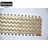 Qualité alimentaire de la courroie du convoyeur en plastique modulaire (Har2120FT)