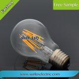 Bulbo de lâmpada aprovado do filamento do diodo emissor de luz do Ce A60 B35 St64