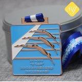 Médaille de la quantité élevée de natation personnalisé