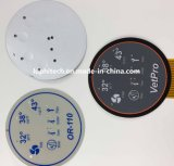 OEM industriel flexible du clavier de contrôle du circuit de rétroéclairage LED de l'interrupteur à membrane